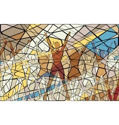 Aerobic mosaic vector