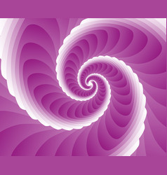 abstract pink swirl background vector image vector image