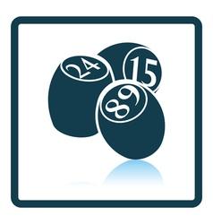 Bingo Kegs icon vector image vector image