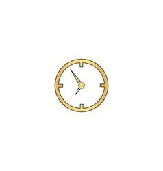 Clock computer symbol vector