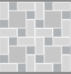 modern square tile wall -11 vector image vector image