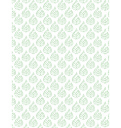 Thai pattern floral background vector