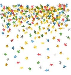 Falling down confetti vector