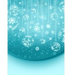 Blue elegant christmas snowflakes eps 8 vector