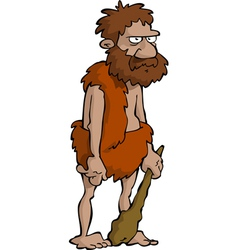 prehistoric man vector image