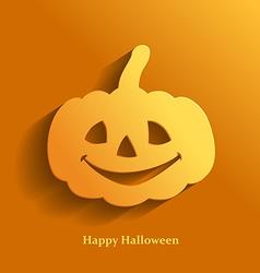 pumpkin orange vector image vector image