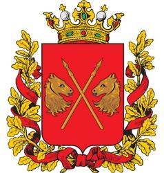 Turgai Oblast vector image vector image
