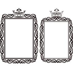 royal borde vector image