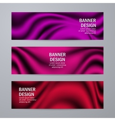 Set of templates for design banners vector