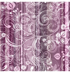 pink and gray striped seamless pattern vector image