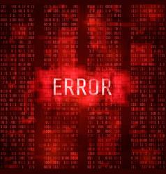 alert error massage notification concept error vector image