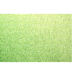 green dotted halftone background vector image vector image