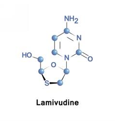 Lamivudine is an antiretroviral medication vector