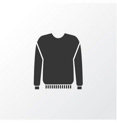 Pullover icon symbol premium quality isolated vector