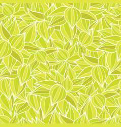 Green succulent plant texture drawing vector
