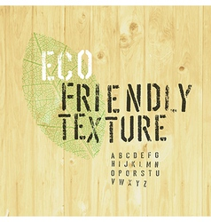 Eco friendly collection vector