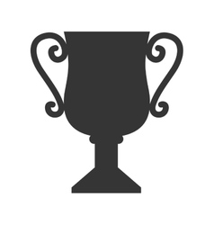 cup trophy award icon graphic vector image