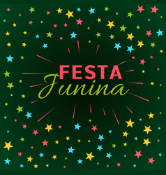 Festa junina latin american holiday festival vector