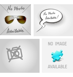 No image photo available vector