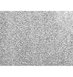 Gritty halftone texture overlay vector image