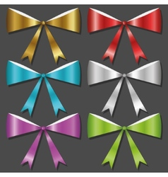Bow collection vector