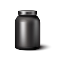 Sport Nutrition Container vector image