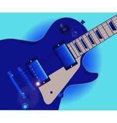 Blues guitar vector