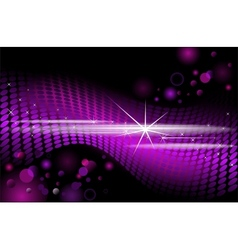 Purple disco background background vector image