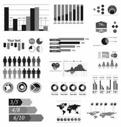 Component infographics vector
