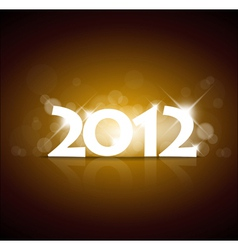 New year 2012 vector