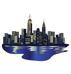 New york elements vector