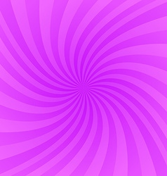 Purple twirling ray background vector