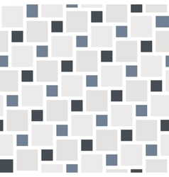 grey tiles seamless pattern vector image vector image