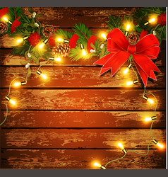 Holiday christmas background vector