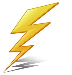Lightening vector image