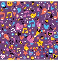 Colorful party fun pattern vector