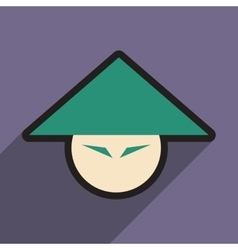 Japanese hats vector
