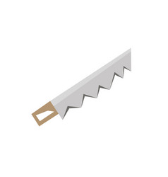 hand saw icon stock flat design side view vector image