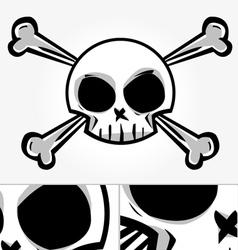 Punk Skull vector image