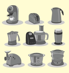 Kitchen equipments vector