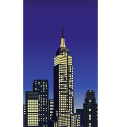 new york elements vector image