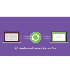 Application programming interface synchronize vector