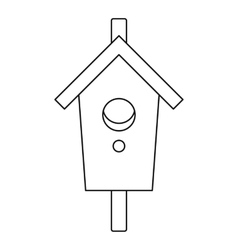 Nesting box icon outline style vector image vector image