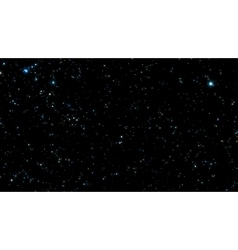 Night sky with bright stars vector image vector image