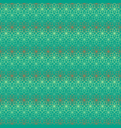 seamless pattern with flowers contour vector image vector image