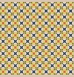 seamless wallpaper with portuguese tiles vector image vector image