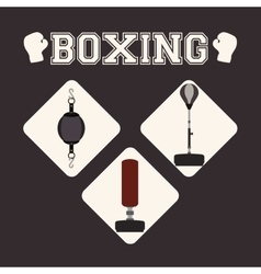 Boxing icon design vector