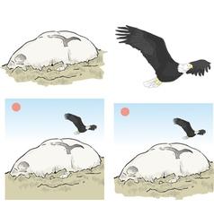 Eagle rock los angeles vector