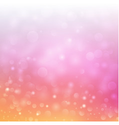 Festive bokeh background with blurred defocused vector