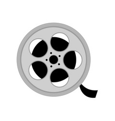 Reel with film vector